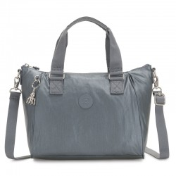 Женская сумка Kipling AMIEL Steel Gr Metal (H55) K16616_H55