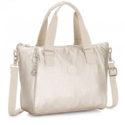 Женская сумка Kipling AMIEL Cloud Metal (J95) K16616_J95
