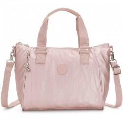 Женская сумка Kipling AMIEL Metallic Rose (G45) K16616_G45