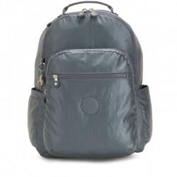 Рюкзак для ноутбука Kipling SEOUL Steel Gr Metal (H55) KI4034_H55
