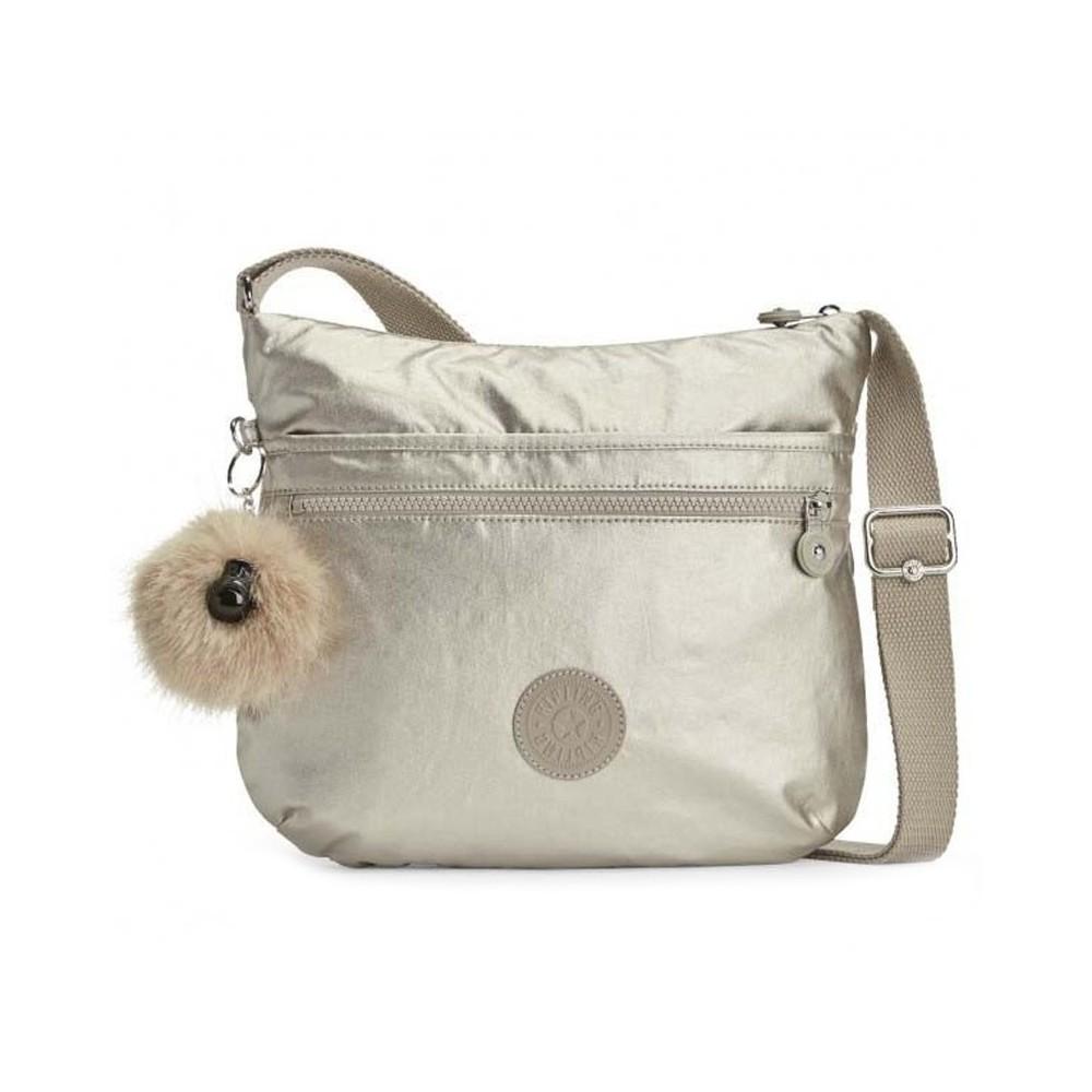 Жіноча сумка Kipling ARTO Silver Beige (02R) K10878_02R