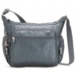 Женская сумка Kipling GABBIE Steel Gr Metal (H55) K22621_H55