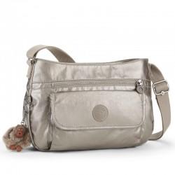 Женская сумка Kipling SYRO Metallic Pewter (L34) K12482_L34