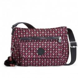 Женская сумка Kipling SYRO Pink Chevron (K05) K13163_K05