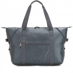 Женская сумка Kipling ART M Steel Gr Metal (H55) K25748_H55